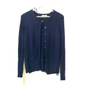 Zara Knit Cardigan with Button Detailed Sleeves.